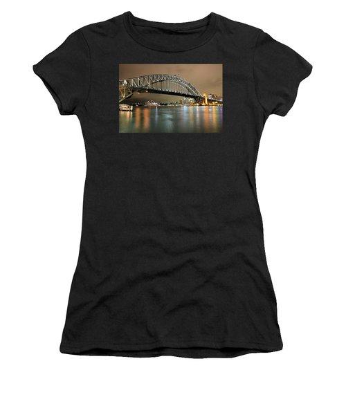 Sydney Harbour At Night Women's T-Shirt