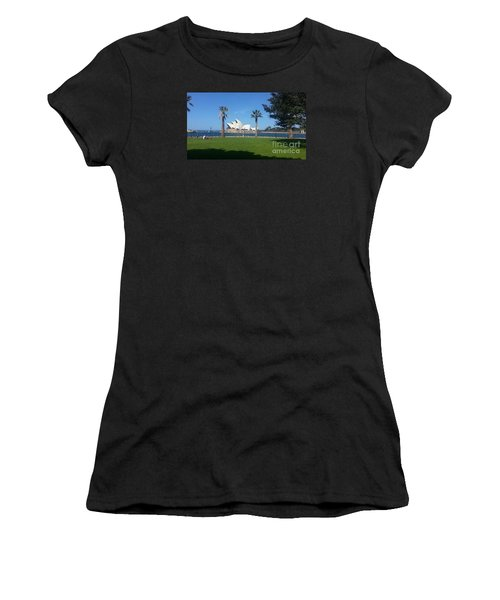 Women's T-Shirt (Junior Cut) featuring the photograph Sydney Opera House  by Bev Conover