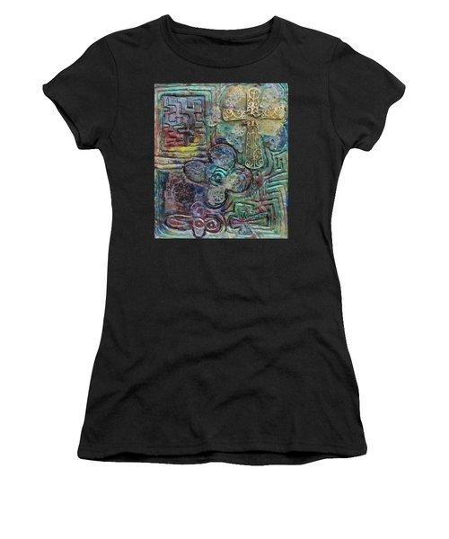 Symbols Women's T-Shirt (Athletic Fit)