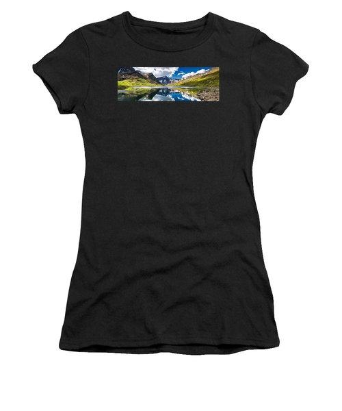 Symphony Lake  Women's T-Shirt (Athletic Fit)