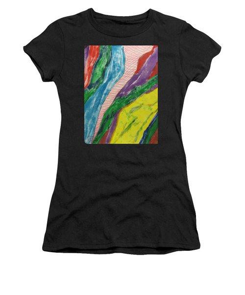 Artwork On T-shirt - 0010 Women's T-Shirt (Athletic Fit)