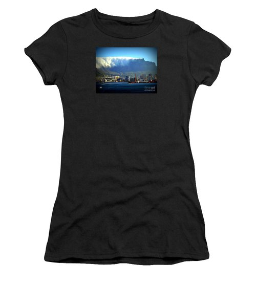 Table Rock With Cloud Women's T-Shirt (Athletic Fit)