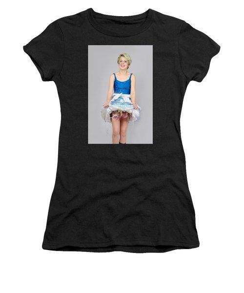Taetyn In Jelly Fish Dress Women's T-Shirt