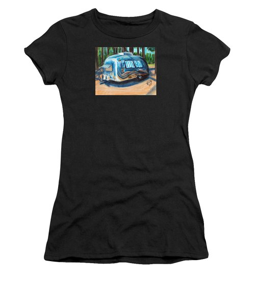 Tahoe Stream Women's T-Shirt (Athletic Fit)