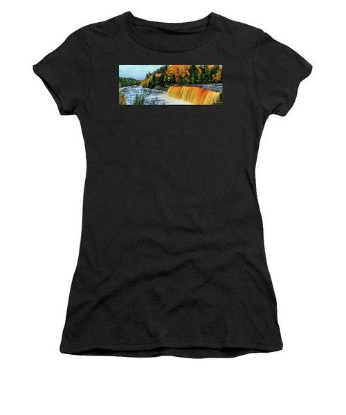Tahquamenon Falls 2 Women's T-Shirt (Athletic Fit)