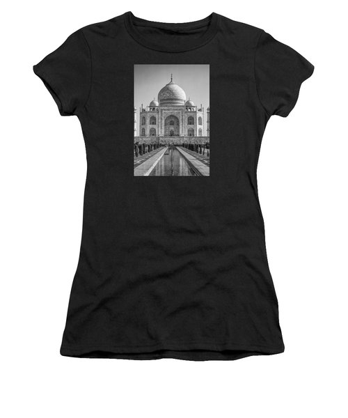 Taj Mahal Monochrome Women's T-Shirt