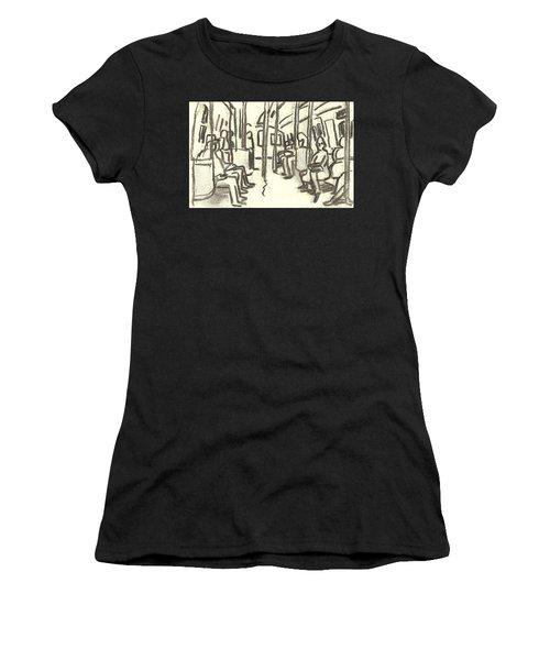 Take The A Train, Nyc Women's T-Shirt (Athletic Fit)