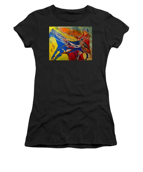 Taking The Reins Women's T-Shirt