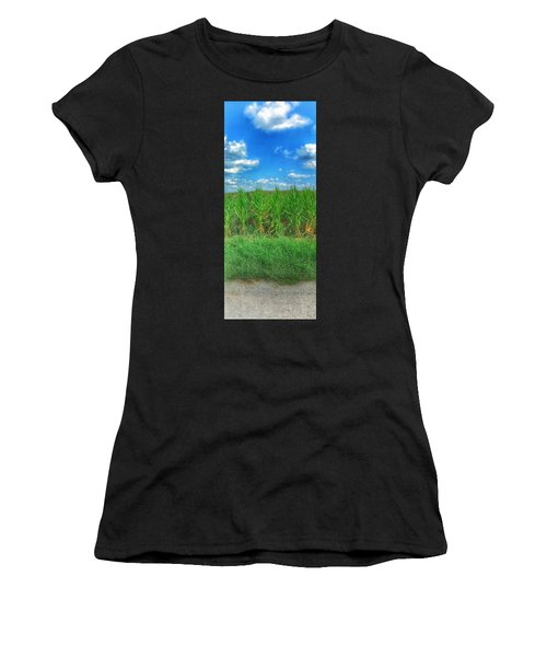 Tall Corn Women's T-Shirt (Athletic Fit)