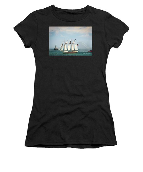 Tall Ship Women's T-Shirt