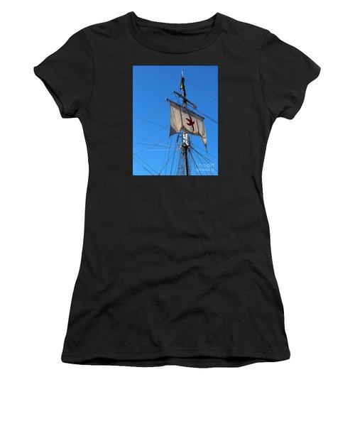 Tall Ship Mast Women's T-Shirt