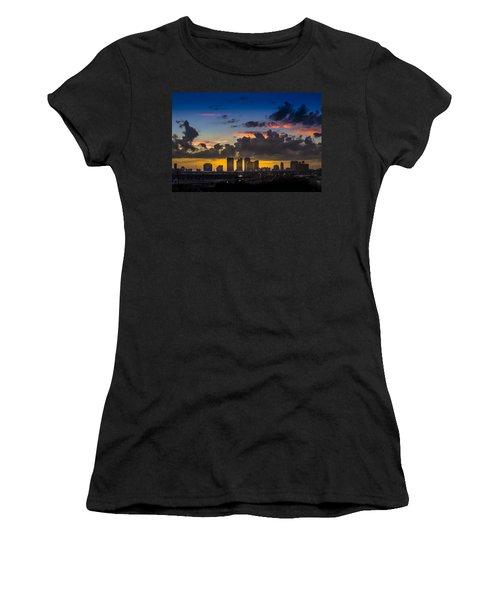 Tampa Sunset Women's T-Shirt