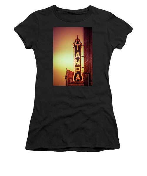 Tampa Theatre Women's T-Shirt (Athletic Fit)
