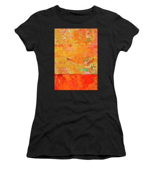 Women's T-Shirt (Junior Cut) featuring the photograph Tangerine Dream by Skip Hunt