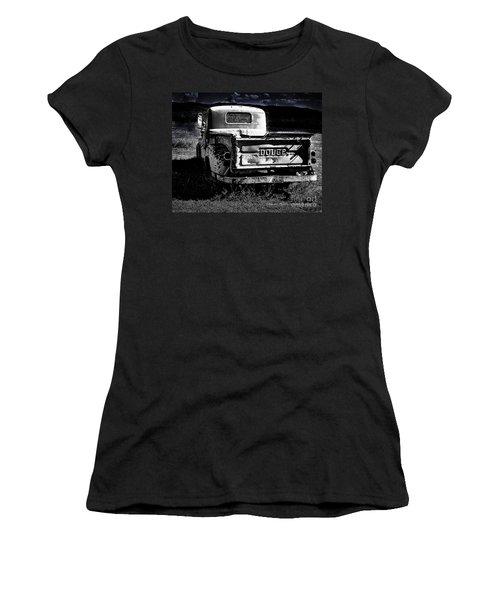 Taos Dodge B-w Women's T-Shirt