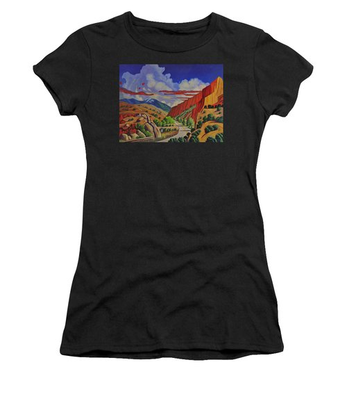 Taos Gorge Journey Women's T-Shirt