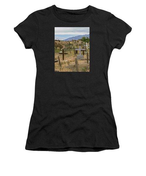 Taos Pueblo Cemetery Women's T-Shirt