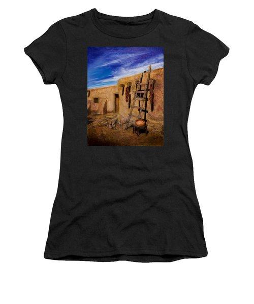 Taos,adobe Living Women's T-Shirt