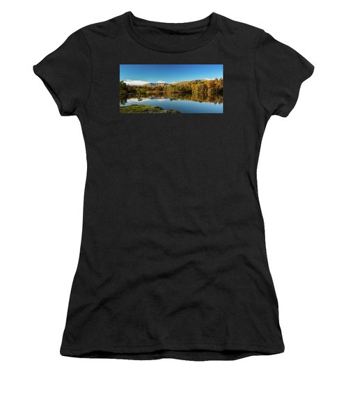 Tarn Hows Women's T-Shirt (Junior Cut) by Mike Taylor