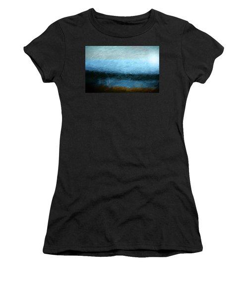Women's T-Shirt (Junior Cut) featuring the photograph Tarn by Linde Townsend
