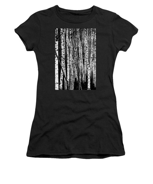 Women's T-Shirt featuring the digital art Tate Willows by Julian Perry