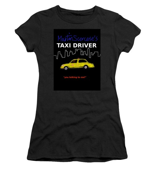 Taxi Driver Movie Poster Women's T-Shirt