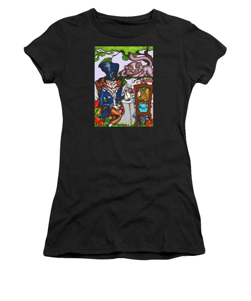 Tea Party Women's T-Shirt (Athletic Fit)