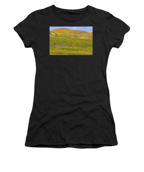 Temblor Range Spring Color Women's T-Shirt
