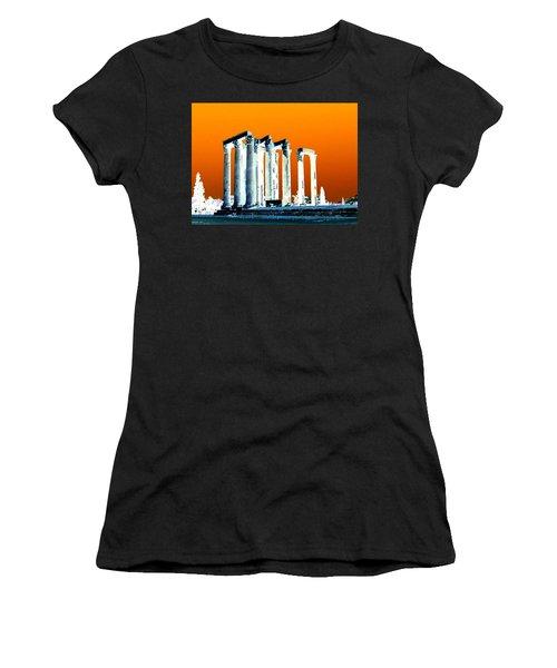 Temple Of Zeus Women's T-Shirt (Athletic Fit)