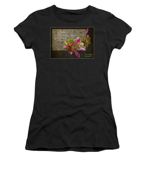 Tender Mercies Women's T-Shirt (Athletic Fit)
