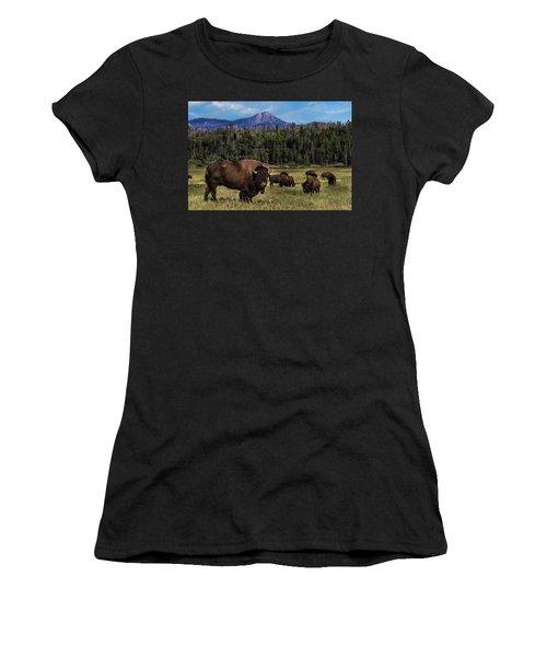 Tending The Herd Women's T-Shirt (Athletic Fit)
