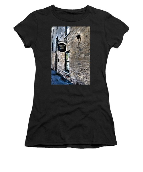 Mendon Town Hall Women's T-Shirt