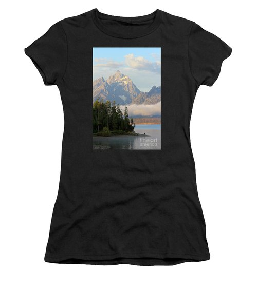 Teton Early Morning Women's T-Shirt (Athletic Fit)
