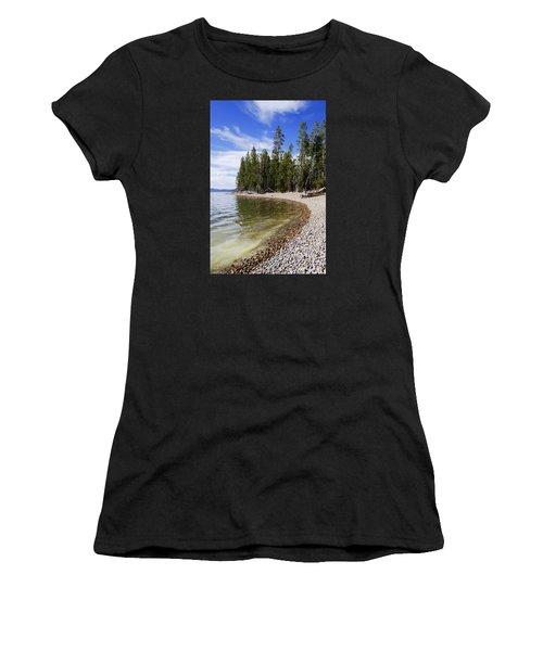 Teton Shore Women's T-Shirt (Athletic Fit)