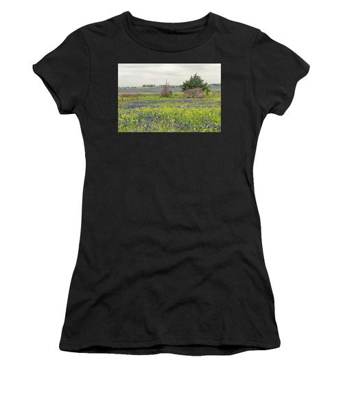 Texas Bluebonnets 3 Women's T-Shirt