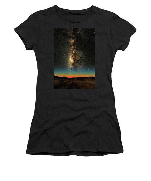 Texas Milky Way Women's T-Shirt