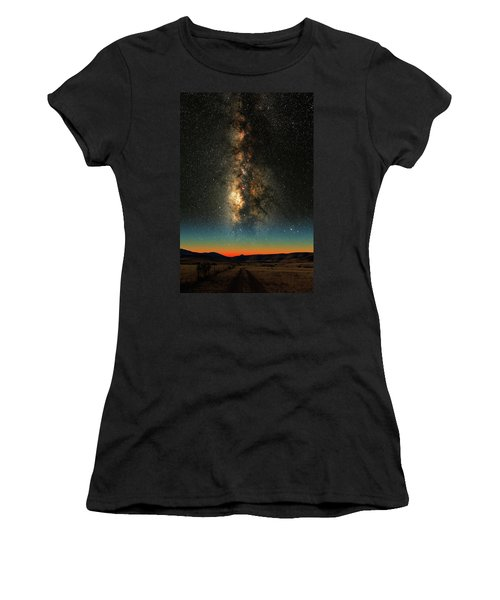 Texas Milky Way Women's T-Shirt