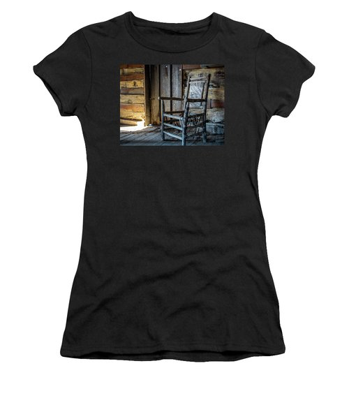 Thacker Cabin Chair Women's T-Shirt (Athletic Fit)