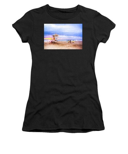 That Was Amazing Watercolor Women's T-Shirt (Athletic Fit)