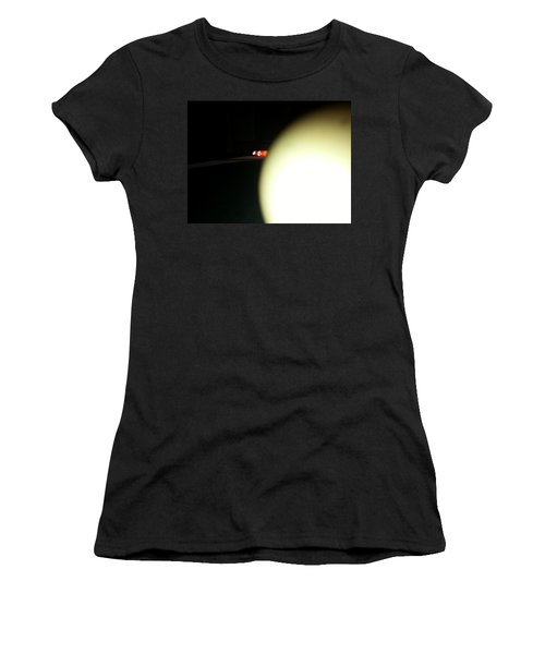 Women's T-Shirt featuring the photograph That's No Moon by Robert Knight