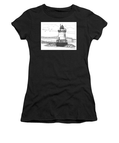 The 1883 Lighthouse At Sleepy Hollow Women's T-Shirt