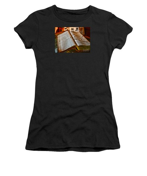 The Accountant's Ledger Women's T-Shirt (Athletic Fit)