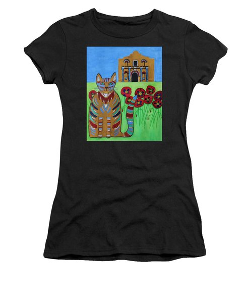 the Alamo Cat Women's T-Shirt