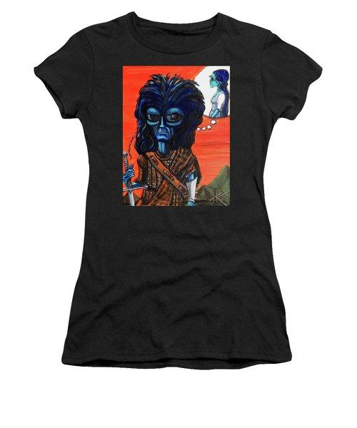 The Alien Braveheart Women's T-Shirt