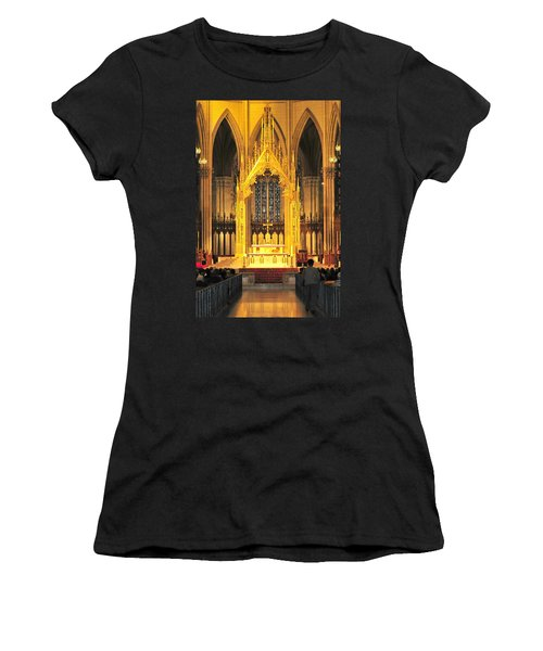 Women's T-Shirt (Junior Cut) featuring the photograph The Alter by Diana Angstadt