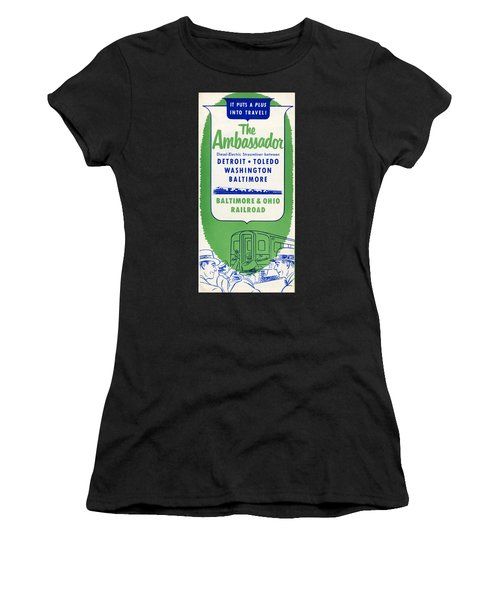 The Ambassador Women's T-Shirt (Athletic Fit)