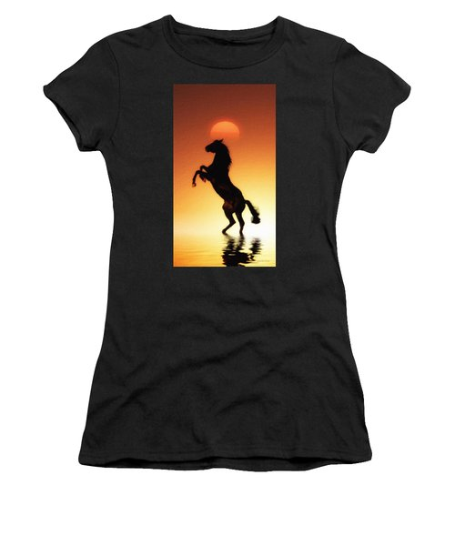 The Animals  Women's T-Shirt (Athletic Fit)