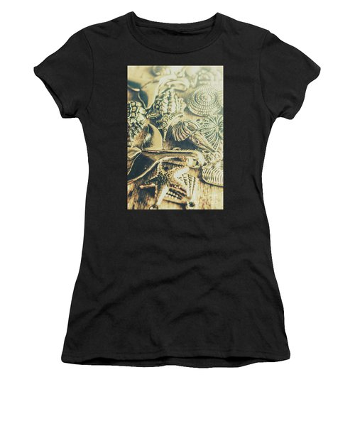 The Aquatic Abstraction Women's T-Shirt