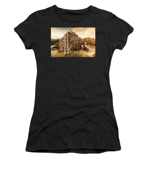 The Art Of Bonfires Women's T-Shirt