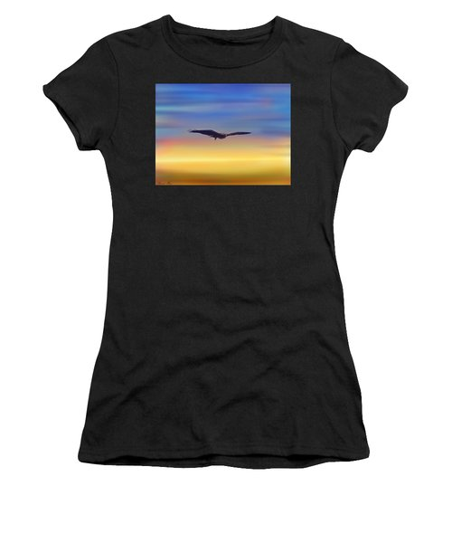 The Art Of Flying Women's T-Shirt (Athletic Fit)